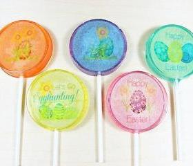 Candy Lollipop Easter Collection, Springtime Lollipops, Candy, Edible Images, Spring Candy, Easter Sunday, Easter Eggs, Pastel Colored